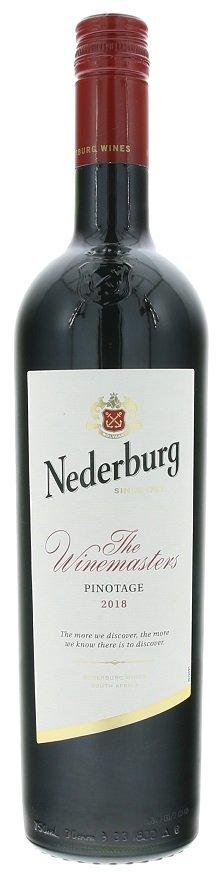 Nederburg Winemasters Pinotage 0,75L, r2018, cr, su, sc