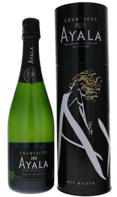 Champagne Ayala Brut majeur v plechovej tube 0,75L, AOC, sam, bl, su, DB