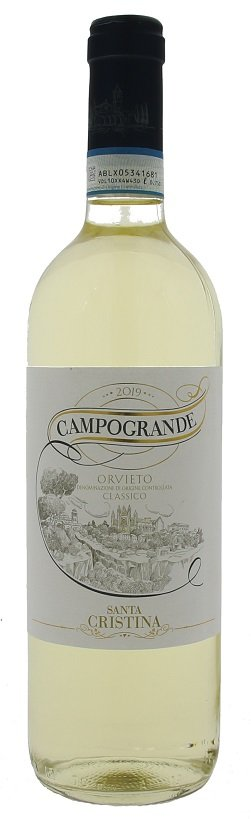 Santa Cristina Campogrande Orvieto Classico 0,75L, DOC, r2019, bl, su