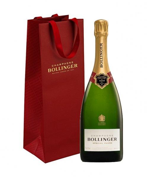 Balíček Champagne Bollinger + taška zadarmo
