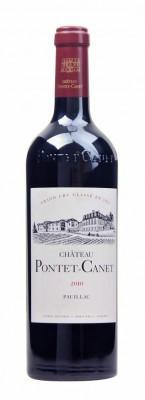 Bordeaux Château Pontet-Canet 0,75L, AOC, Grand Cru Classé, r2010, cr, su