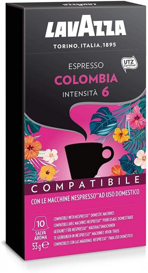 Lavazza NCC Espresso Colombia 100% A, (10x5,3g), kaps