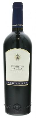 Monteverdi Primitivo Puglia 0,75L, IGT, r2018, cr, su
