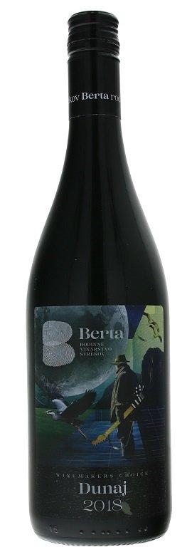 Berta Winemakers Choise Dunaj 0,75L, r2018, ak, cr, su, sc