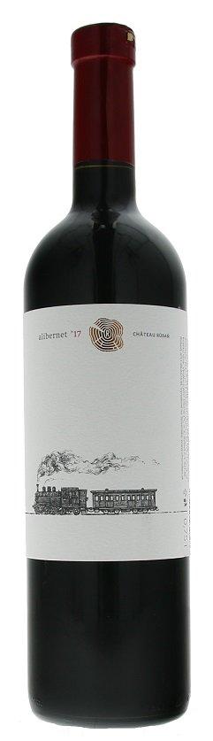 Chateau Rúbaň Alibernet 0,75L, r2017, nz, cr, su