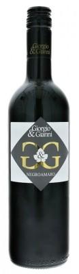Giorgio & Gianni Nero Negroamaro 0,75L, IGT, r2018, cr, su, sc