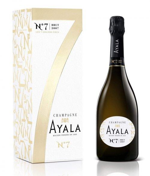 Champagne Ayala Brut N7 0,75L, AOC, r2007, sam, bl, su, DB