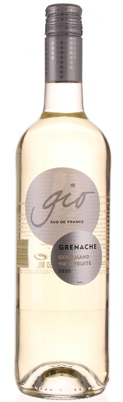 Gérard Bertrand Gio Blanc 0,75L, IGP, r2020, bl, su, sc