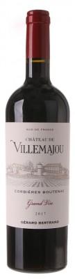 Gérard Bertrand Château de Villemajou, Corbieres Boutenac 0,75L, AOC, r2017, cr, su