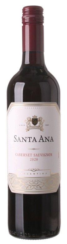 Santa Ana Cabernet Sauvignon 0,75L, r2020, cr, su, sc