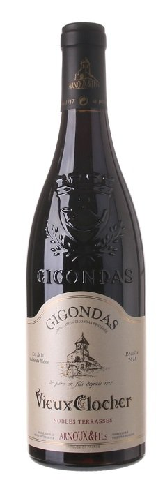 Arnoux & Fils Vieux Clocher, Gigondas 0,75L, AOC, r2018, cr, su