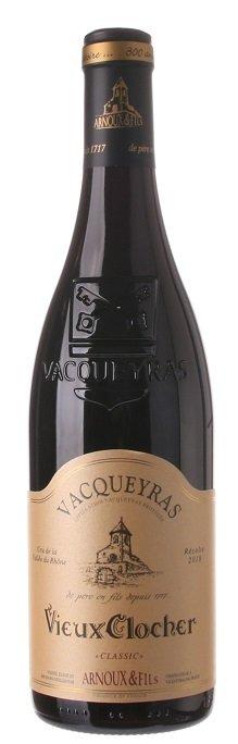 Arnoux & Fils Vieux Clocher, Vacqueyras Classic 0,75L, AOC, r2018, cr, su