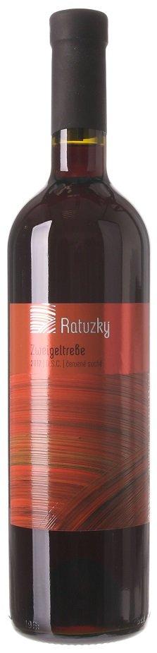 Vinárstvo Ratuzky Zweigeltrebe 0,75L, r2017, ak, cr, su