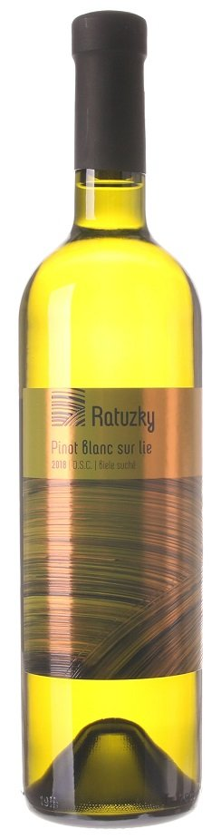 Vinárstvo Ratuzky Pinot Blanc Sur lie 0,75L, r2018, ak, bl, su