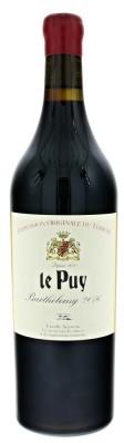 Le Puy Barthélemy BIO 0,75L, Vin de France, r2016, cr, su