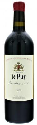 Le Puy Emilien BIO 0,75L, Vin de France, r2016, cr, su