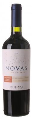 Emiliana Novas Carmenere-Cabernet Sauvignon, Gran Reserva, BIO 0,75L, r2018, cr, su