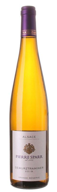 Pierre Sparr Grande Réserve Gewurztraminer 0,75L, AOC, r2019, bl, plsu