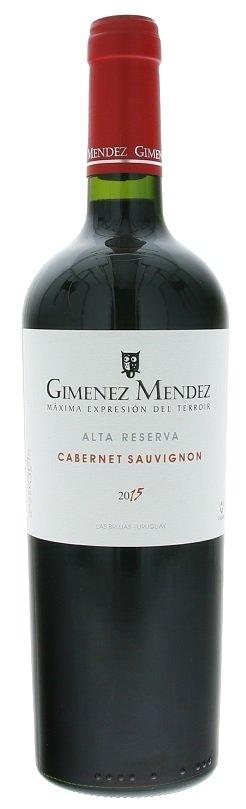 Giménez Méndez Alta Reserva Cabernet Sauvignon 0,75L, r2015, cr, su