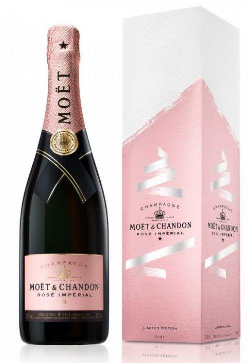 Moët & Chandon Brut Impérial Rosé EOY 0,75L, AOC, sam, ruz, brut, DB