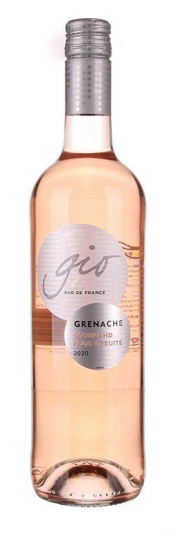 Gérard Bertrand Gio Grenache Rosé 0,75L, IGP, r2020, ruz, su, sc