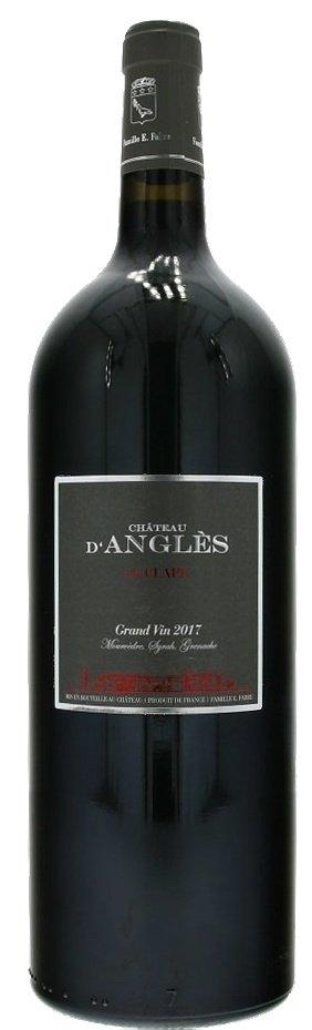 Château d'Angles Grand Vin Rouge La Clape 1,5L, AOC, r2017, cr, su