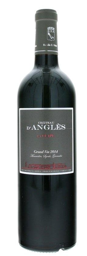 Château d'Angles Grand Vin Rouge La Clape 0,75L, AOC, r2014, cr, su