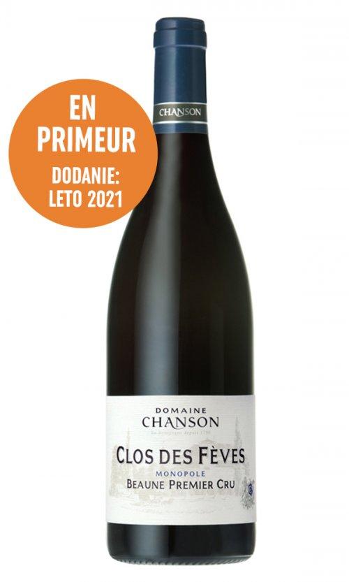 Domaine Chanson Beaune Clos des Féves Premier Cru (En-Primeur) 0,75L, AOC, 1er Cru, r2019, cr, su
