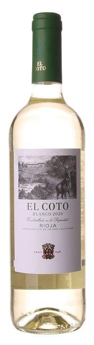 El Coto Blanco 0,75L, DOCa, r2020, bl, su