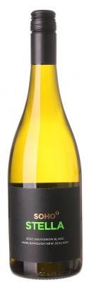 Soho Stella Sauvignon Blanc 0,75L, r2020, bl, su, sc