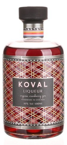 Koval Cranberry gin liqueur Organic 30% 0,5L, liker