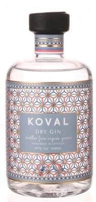 Koval Dry Gin Organic 47% 0,5L, gin