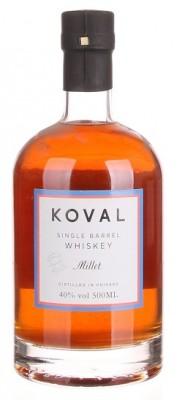 Koval Millet Whiskey Organic 40% 0,5L, whisky