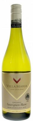 Villa Maria Cellar Selection Sauvignon Blanc  Organic 0,75L, r2019, bl, su, sc