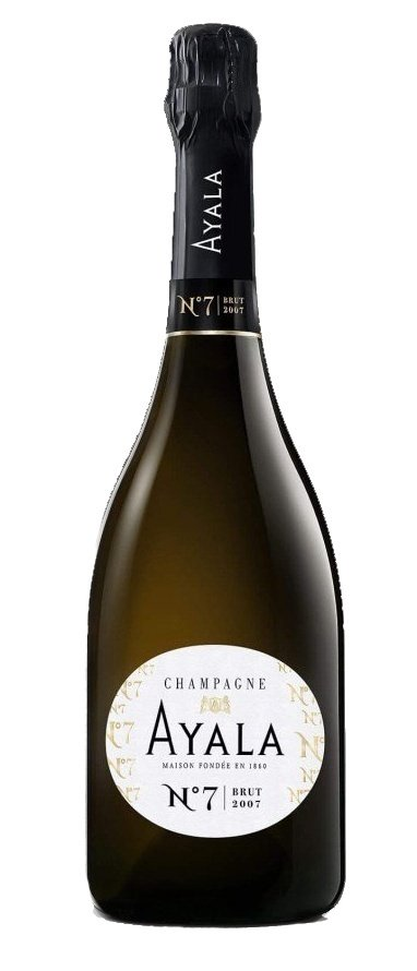 Champagne Ayala Brut N7 0,75L, AOC, r2007, sam, bl, su