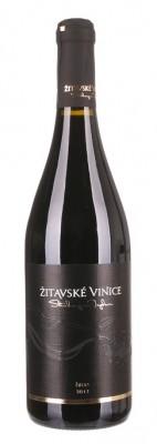 Žitavské vinice Hron barrique 0,75L, r2017, ak, cr, su
