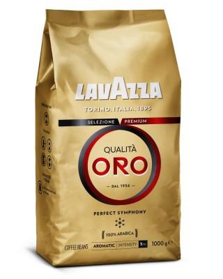 Lavazza Retail Qualita ORO 100% Arabica, 1000g,zrn, ochr
