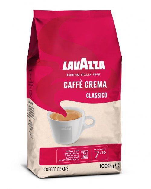 Lavazza Retail Caffé Crema Classico 1000g,zrnzm, ochr