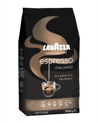 Lavazza Retail Espresso Classico 100% Arabica, 1000g,zrn, ochr