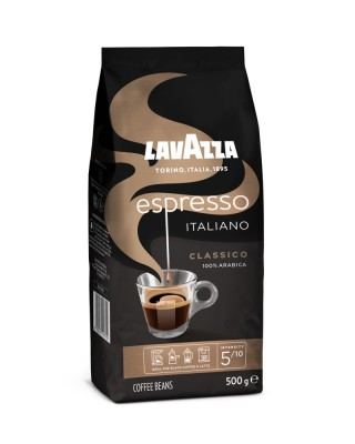 Lavazza Retail Espresso Classico 100% Arabica, 500g,zrn, ochr