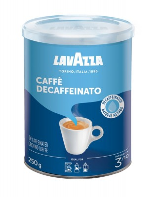 Lavazza Retail Decaffeinato, 250g,ml, plech