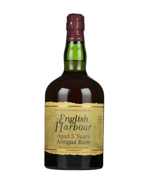English Harbour 5 YO 40% 0,7L, rum