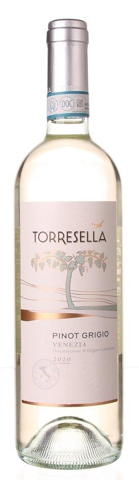 Torresella Pinot Grigio Venezia 0,75L, DOC, r2020, bl, su