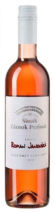 Šimák Zámok Pezinok Edícia Roman Janoušek Cabernet Sauvignon 0,75L, r2020, ak, ruz, su