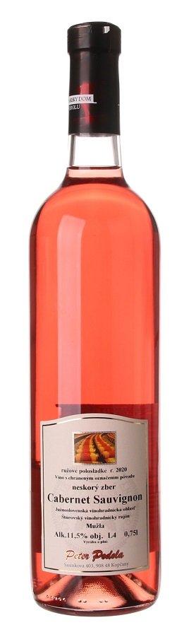 Peter Podola Cabernet Sauvignon rosé 0,75L, r2020, nz, ruz, plsl