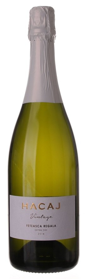 Hacaj Feteasca Regala Extra Dry 0,75L, r2018, skt trm, bl, exdry