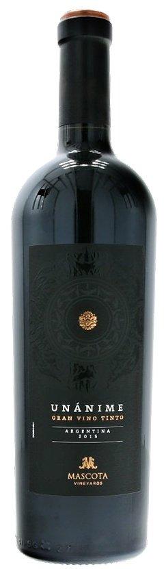 Mascota Vineyards Unánime Gran Vino Tinto 0,75L, r2015, cr, su