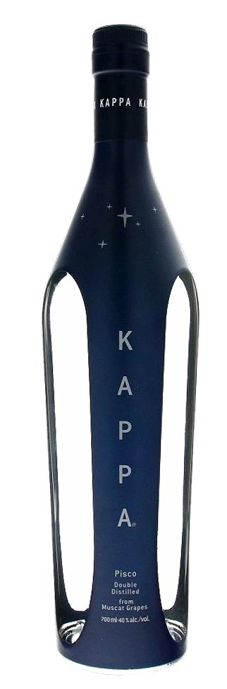 Kappa Pisco, double destilled 40,1% 0,7L, destin