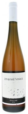 Žitavské vinice Dunaj Rosé 0,75L, r2019, ak, ruz, su