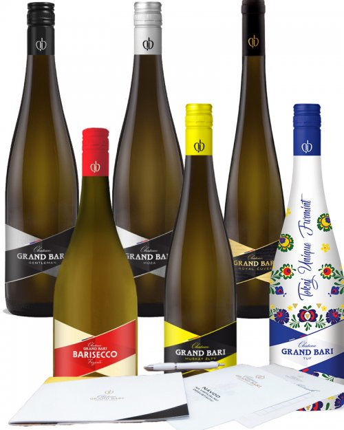 Chateau Grand Bari Degustačný balíček (6 ks) 4,25L, vin,bl